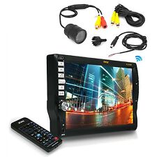 "Flush Mount Night Vision BackUp Camera,7"" Touch Mp3 CD Bluetooth AM FM Receiver"