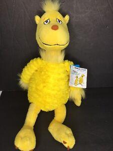 "SNOOZAPALOOZA Plush Dr Seuss SLEEP BOOK /& Kohls cares Stuffed animal Toy 17/"""