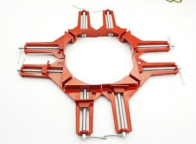100mm 4inch Corner Clamps Mitre Clamp Picture Framing Right Angled Red Eine VollstäNdige Palette Von Spezifikationen