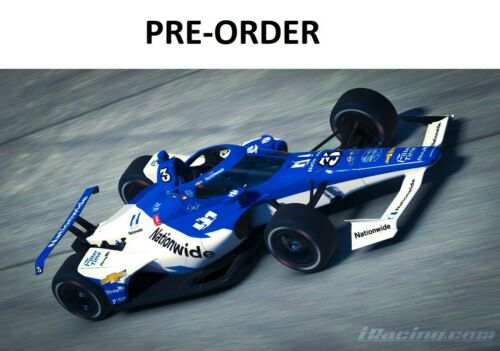 *PREORDER* Dale Earnhardt Jr 2020 #3 Nationwide 1:18 Indy Car iRacing Diecast