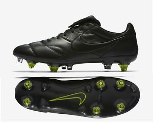 finest selection f3159 39bb9 Image is loading Nike-Premier-II-SG-AC-Leather-Soccer-Cleats-