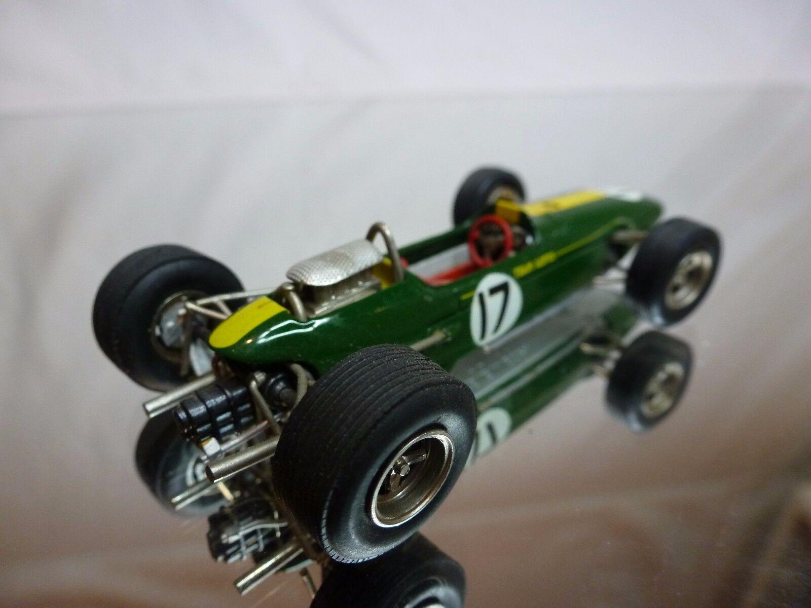 SMTS 6 KIT (built) LOTUS 33 - 1965  JIM JIM JIM CLARK No 17 - F1 GREEN 1 43 - NICE f20e4e