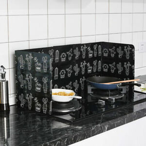 Kitchen Folding Cooking Oil Splash Screen Cover Anti Shield Stove Splatter B8X9