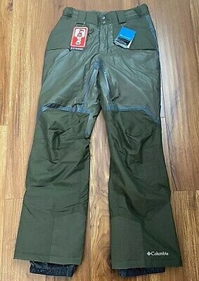 Navy Mens Columbia Outdry Glacial Hybrid Insulated Waterproof Snow Ski Pants