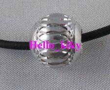 70Pcs Silver carved lantern Aluminium bead13mm M690