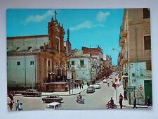PARTINICO Fiat 500 Corso dei Mille Palermo vecchia cartolina