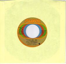 BILL WITHERS  Lean On Me / Better Off Dead 45 from 1972