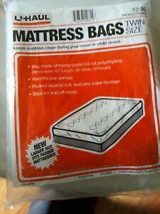 Uhaul Mattress Bag Twin Size For Moving & Storage | eBay