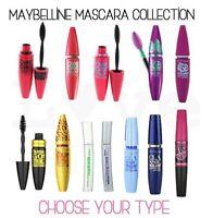 Maybelline Mascara Range Choose Your Type Black Brown