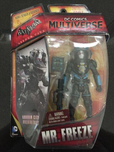 "FREEZE 4/"" Figure Mattel 2014 DC Comics Multiverse Arkham City MR"