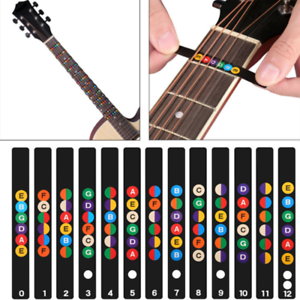 2Pcs-Guitar-Fretboard-Notes-Musical-Scale-Sticker-Musical-Aids-ProfessionalNew
