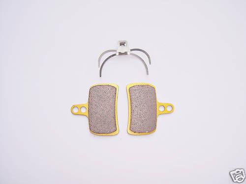 Plaquettes disc brake pads NHC métallic compatible Hope Mono Mini et New Mini