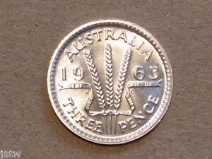 Australia-1963-Threepence-Proof-Mintage-5042