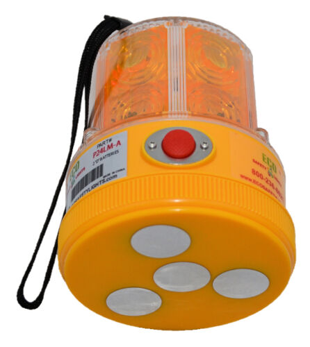 R24LM RECHARGEABLE EMERGENCY PORTABLE LED SAFETY LIGHT 360D BEACON