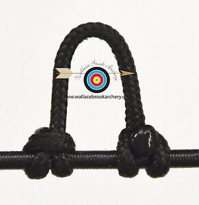 Noir 110M Corde Filetage Corde D/'arc Avec Serveur De Corde Outil Tir à Arc