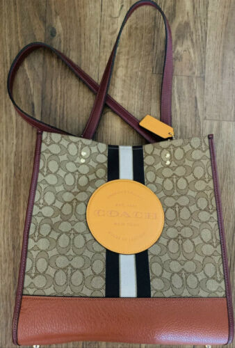COACH Dempsey Carryall In Signature Jacquard With