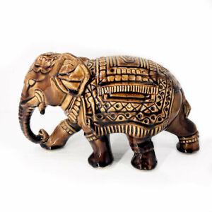 Indian Elephant Lucky Statue Figurine
