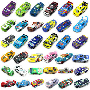 pixar cars 1 55 diecast racers mcqueen metal mini car kids toy ebay. Black Bedroom Furniture Sets. Home Design Ideas