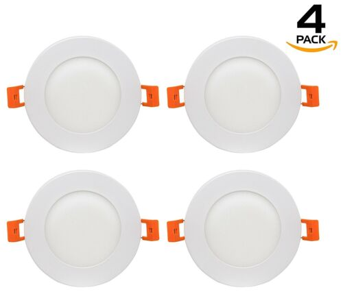 Westgate LED Recessed Light Ultra Slim 4Inch 9W Round With Junction Box