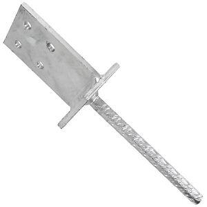 Pfostentraeger-feuerverzinkt-200-mm-Riffeldolle-fuer-gt-80-mm-Typ-T-GAH-1-Stueck
