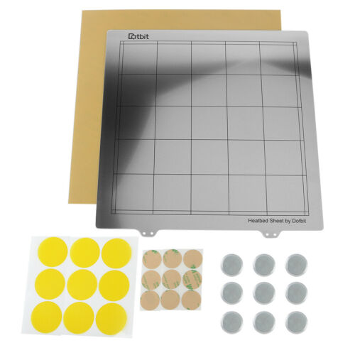 Heat Bed Platform Hot Bed Build Surface Plate for Creality Printer 300x300mm