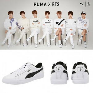 72e8eb100e2 BTS  PUMA x BTS Shoes Limited Edition COURT STAR Special Photo Card ...