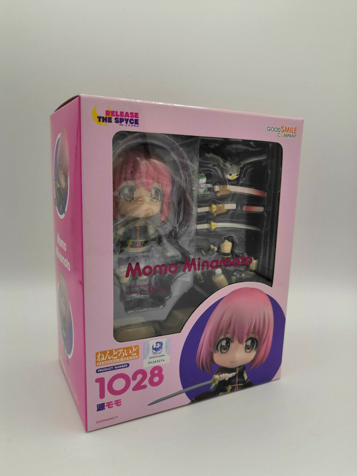 Release the Spyce NendGoldid Action Figure Momo Minamoto Good Smile Company BNIB