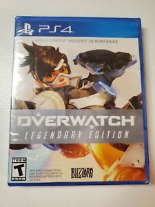 PS4-Over-Watch-Legendary-Edition-New-In-Box-Video-Game-Disc-Case-Manual-Complete
