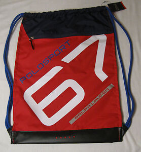 Image is loading NWT-Polo-Sport-Ralph-Lauren-Drawstring-Bag-Backpack- 8de65cd444aa4