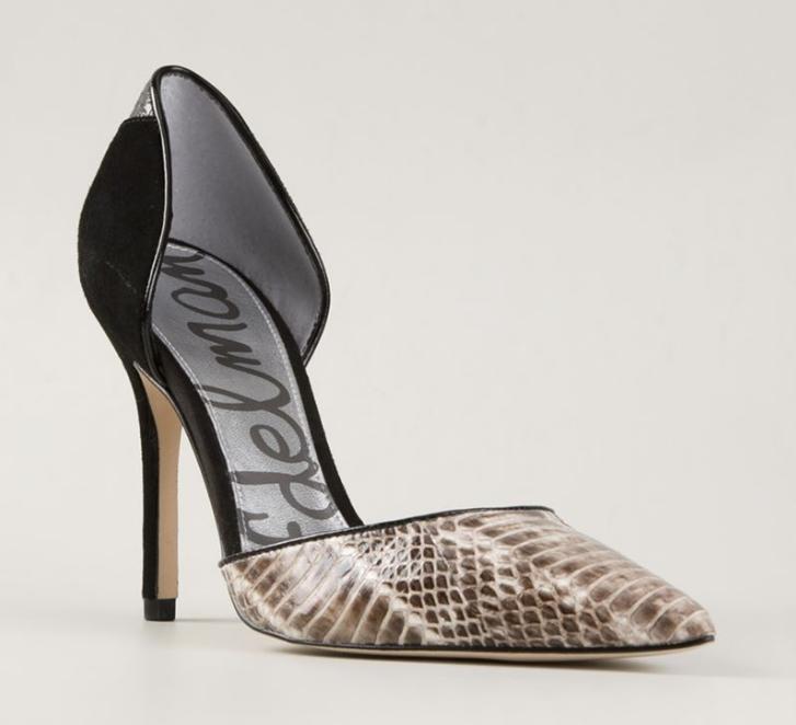 molte sorprese Sam Edelman Donna    nero Snakeskin Leather Suede Deviolah Pumps 1074 Sz 7.5 M  molto popolare