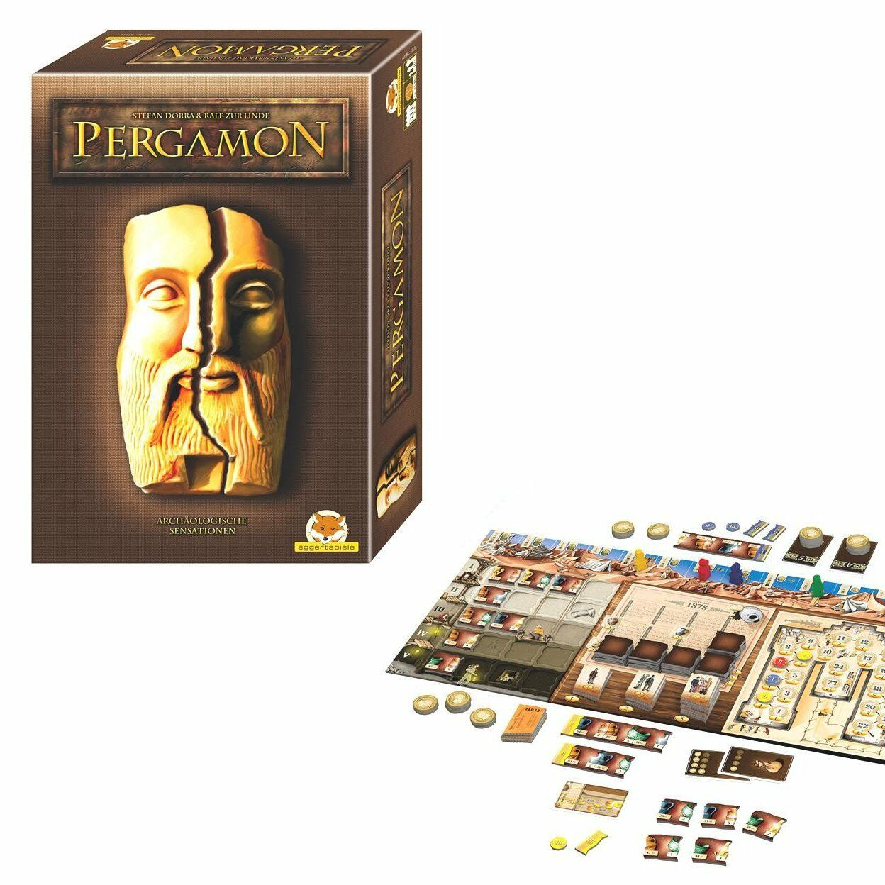 Pergamon Pergamon Pergamon juego eggertspiele 43111 nuevo & OVP  ordenar ahora