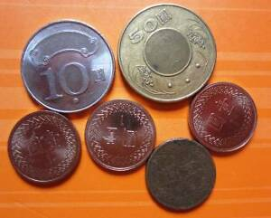 Circulated-coins-from-Taiwan