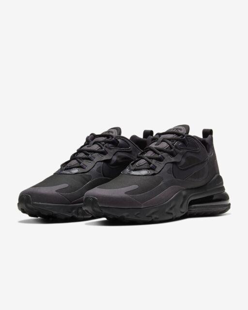 Mens Nike Air Max 270 React Triple Black Sz 7|womens 8.5 Running Shoe  Ao4971 003