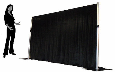 1.5m max height- Aluminium Pipe and Drape system / Ops surround + Drape