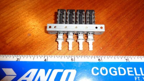 NEW 4 STATION PUSH BUTTON SHADOW SWITCH ASSEMBLY LOT OF 2