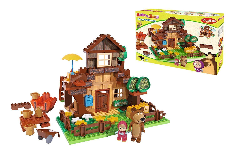 Simba Masha Und die Bär Haus der Bau Bär wie sale in der TV 163 Teile