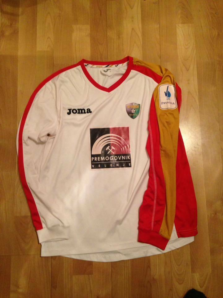 NK RUDAR MATCH WORN JERSEY SHIRT