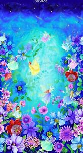 CLEARANCE-Chong-a-Hwang-Digitally-Printed-Fairy-Fantasy-Fabric-Panel