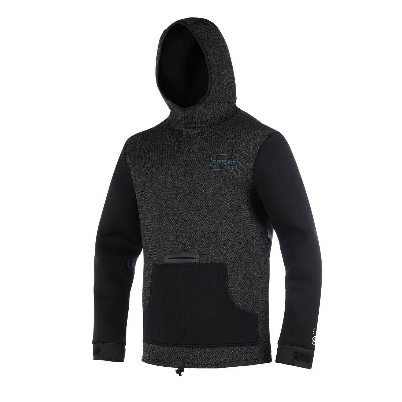 Mystic 2019 Voltage Sweat Black//White Riding Jacket