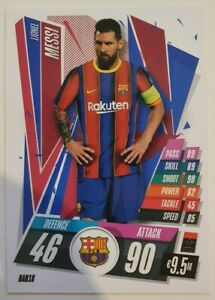 2020/21 Match Attax UEFA Champions League - Lionel Messi BAR18 Barcelona