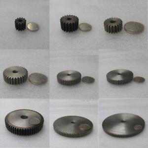 Precision-1-5Mod-12T-89T-Spur-Gear-45-Steel-Motor-Pinion-Gear-Thickness-15mm
