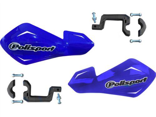 Polisport FreeFlow Lite Blue Hand Guards fits Yamaha XTZ660  Tenere 96-98