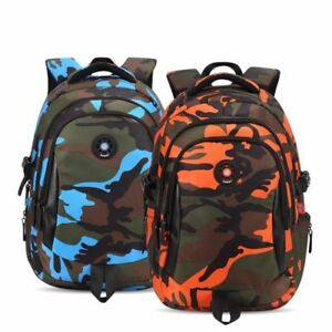 Children Camouflage Schoolbag Casual Waterproof Backpack for Girls and Boys