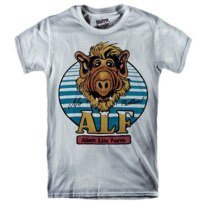 ALF T-shirt TV series - cartoon Alien Lite Form 1986-1990 80's vintage