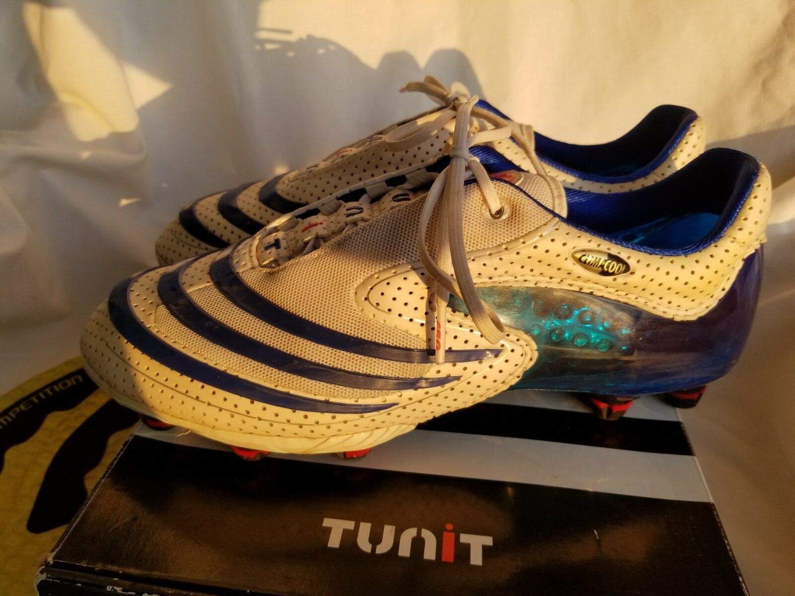 Adidas F50 Tunit Clima Cool Prossoator Pulse Soccer F50 scarpe Cleats US 8.5