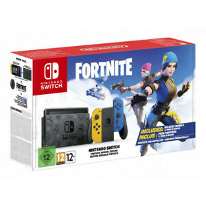 NINTENDO-SWITCH-ED-LIMITADA-FORTNITE-PREINSTALADO-CONTENIDO-DESCARGABLE-SWITCH
