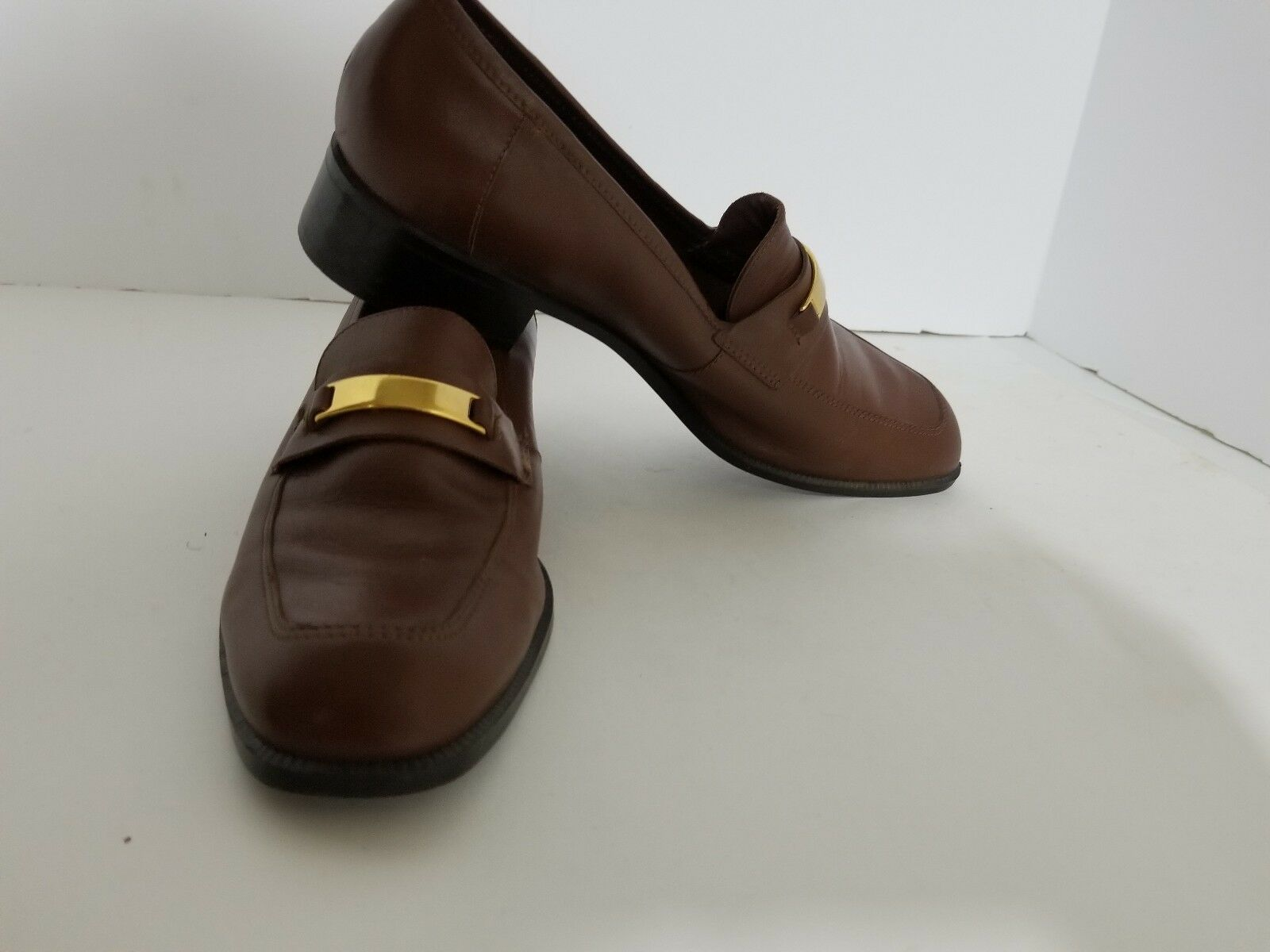Unisa  Brown Leather Women's Pumps Shoes Size 7M