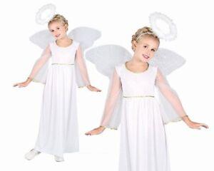 765f3a5f649d Image is loading Child-ANGEL-Nativity-Christmas-Fancy-Dress-Costume-School-