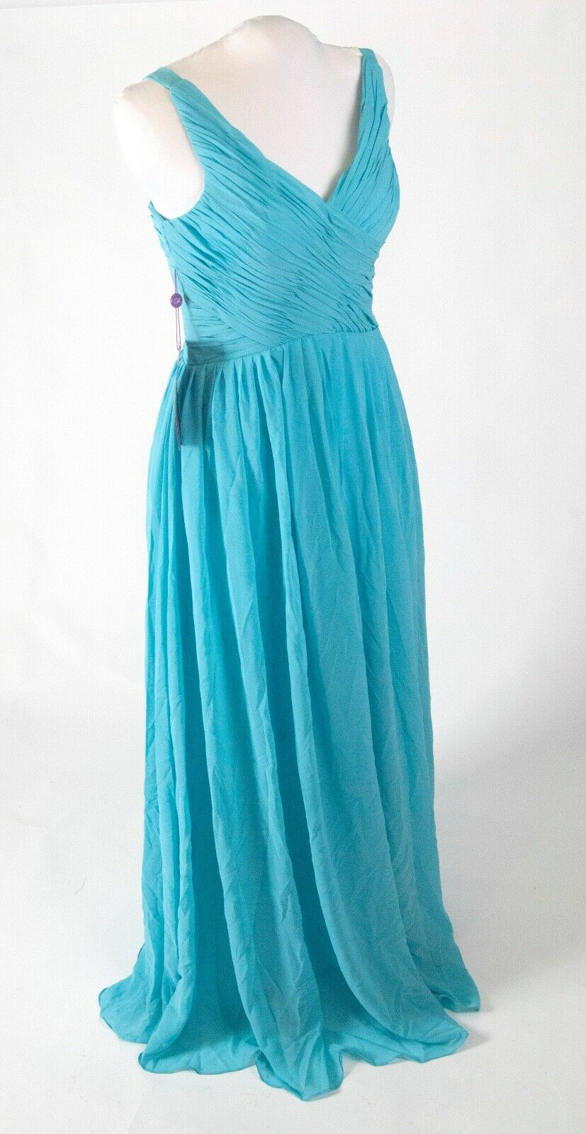 (5) NWT Grace Karin Light Blue Formal Gowns Bridesmaid Dresses sz 2 4 6 Wedding