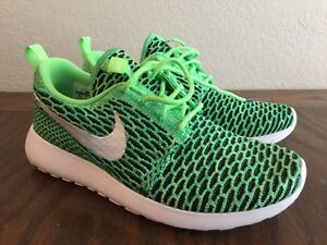 size 40 8064a 05b90 Image is loading New-Nike-FlyKnit-Roshe-Run-Sneaker-Women-7M-